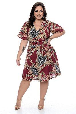 Vestido Plus Size Herika