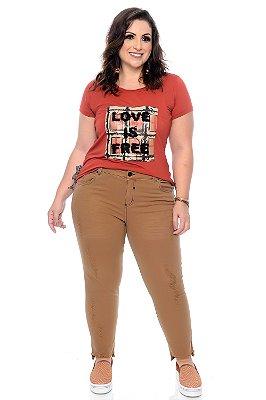 Calça Skinny Plus Size Syllia
