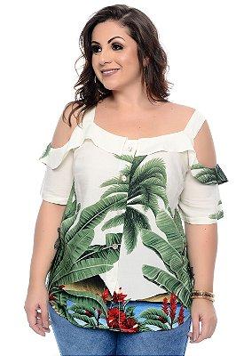 Blusa Plus Size Tercilia