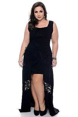 Vestido Longo Plus Size Soriani