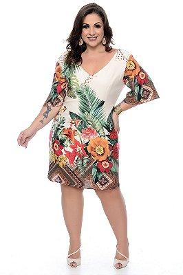 Vestido Plus Size Razini