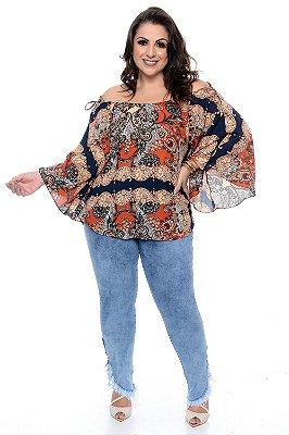 Blusa Ciganinha Plus Size Beldini