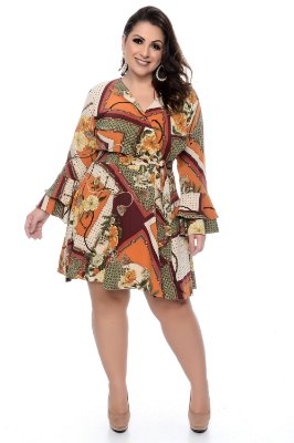 Vestido Plus Size Withney