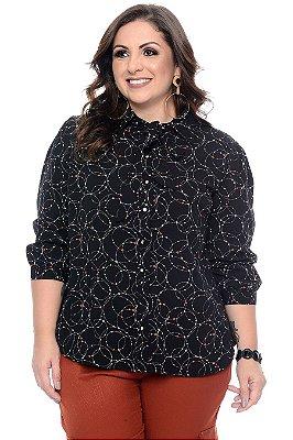 Camisa Plus Size Aimyra