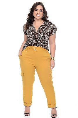 Blusa Plus Size Ellaria