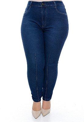 Calça Skinny Jeans Plus Size Ranuzya
