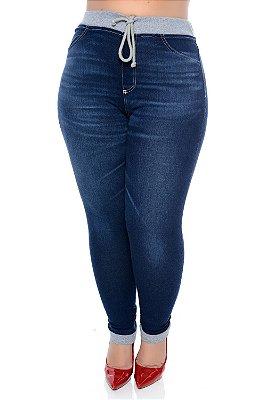 Calça Skinny Jeans Plus Size Beatriz