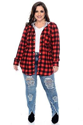 Camisa Plus Size Adjara