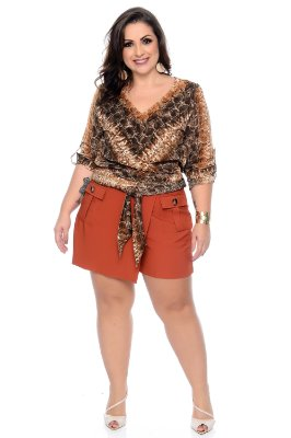 Blusa Plus Size Sue