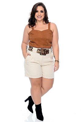 Blusa Cropped Plus Size Suellen