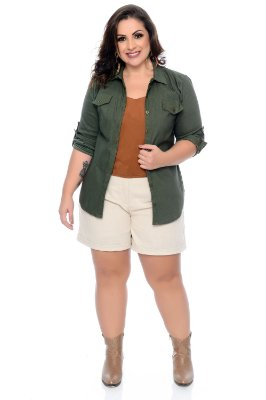 Camisa Plus Size Madison