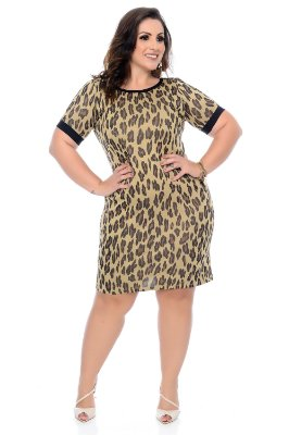 Vestido Plus Size Merlini