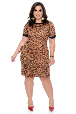 Vestido Plus Size Elieza