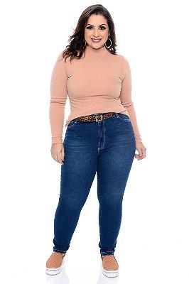 Calça Skinny Jeans Plus Size Tchala