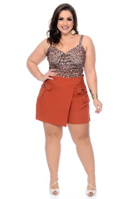 Short Saia Plus Size Amy