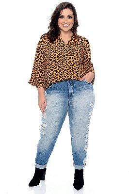 Camisa Plus Size Kenya