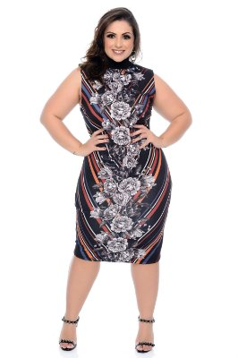 Vestido Plus Size Ziara