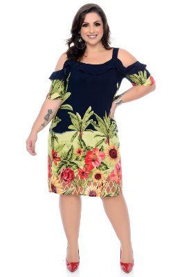 Vestido Plus Size Julliane
