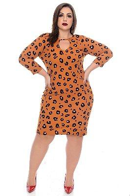 Vestido Plus Size Elloiza