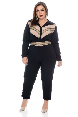 Camisa Plus Size Letysse