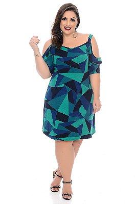 Vestido Plus Size Shelda