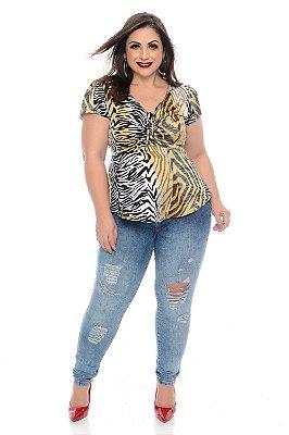 Blusa Plus Size Ashia