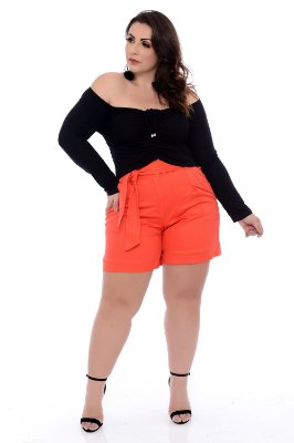 Blusa Cropped Plus Size Shuri