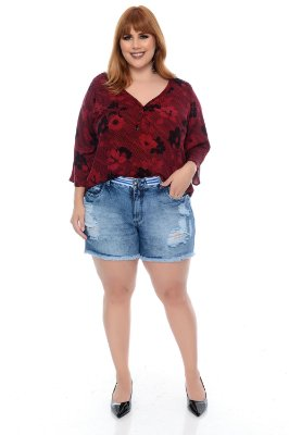 Shorts Jeans Plus Size Shady
