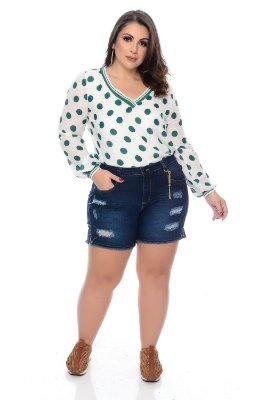 Shorts Jeans Plus Size Vianne