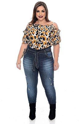 Calça Jeans Plus Size Catieli