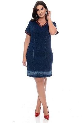 Vestido Plus Size Luckyn
