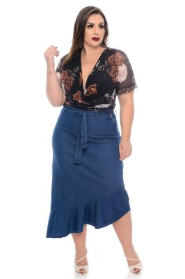 Saia Plus Size Daffane