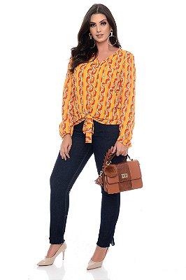 Camisa Plus Size Waikel