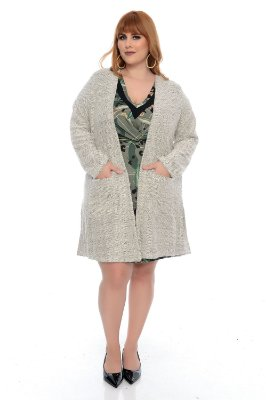Cardigan Plus Size Wilta