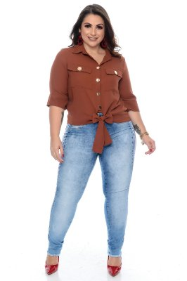 Camisa Plus Size Thaylla
