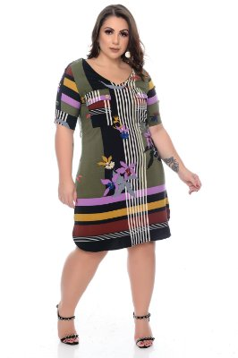 Vestido Plus Size Mirelly
