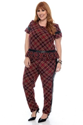 Conjunto Plus Size Syndia