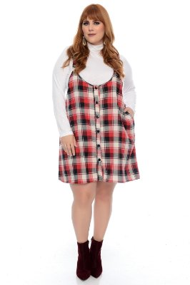 Salopete Plus Size Tacya