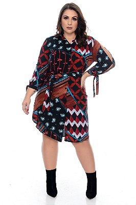 Vestido Plus Size Varela