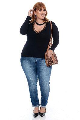 Blusa Plus Size Vannie