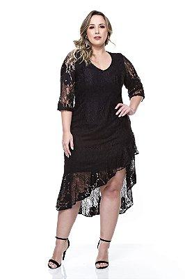 Vestido Plus Size Soely