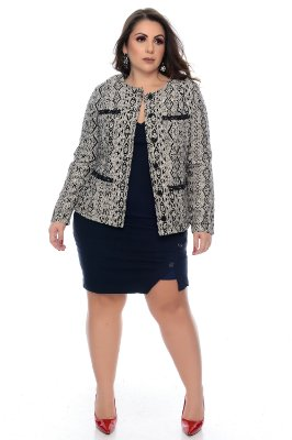 Casaco Plus Size Verly