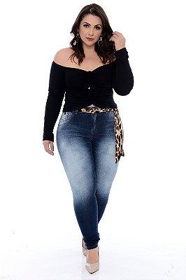 Calça Jeans Skinny Plus Size Sabryna