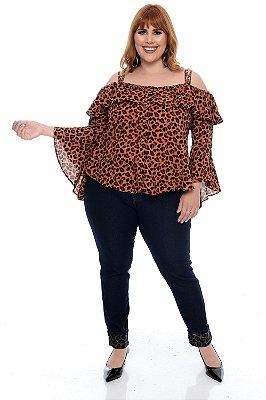 Calça Skinny Plus Size Aynara