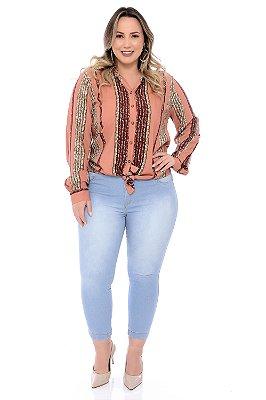 Camisa Plus Size Zarina