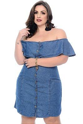 Vestido Jeans Plus Size Jezabel