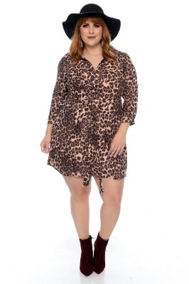 Vestido Plus Size Mayone