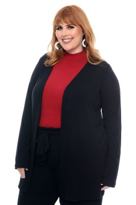 Cardigan Plus Size Luyze
