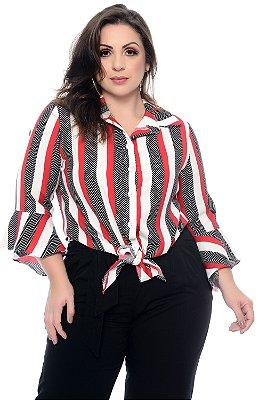 Camisa Plus Size Sueidi