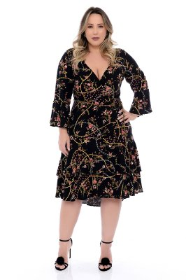 Vestido Plus Size Lorine
